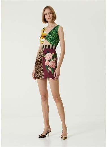 Dolce&Gabbana Elbise Leopar